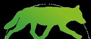 Wolf Bayern wild Logo