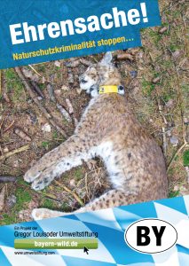 Naturschutzkriminaliät stoppen