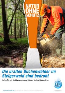 GLUS_Plakat_Natur_Ohne_Schutz_Steigerwald