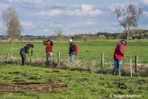 Herdenschutz - Freiwilligen-Einsatz in Mecklenburg-Vormpommern. Hier werden Zäune Wolfssicher gemacht.
