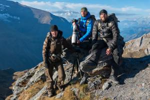 """Bärenland - Team """"Leben am Limit"""" mit Fotografin und Autorin Christine Sonvilla."""