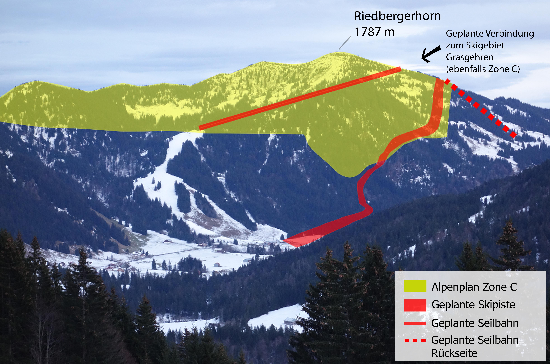 Riedberger Horn - Riedbergerhorn ZoneC_Copyright DAV