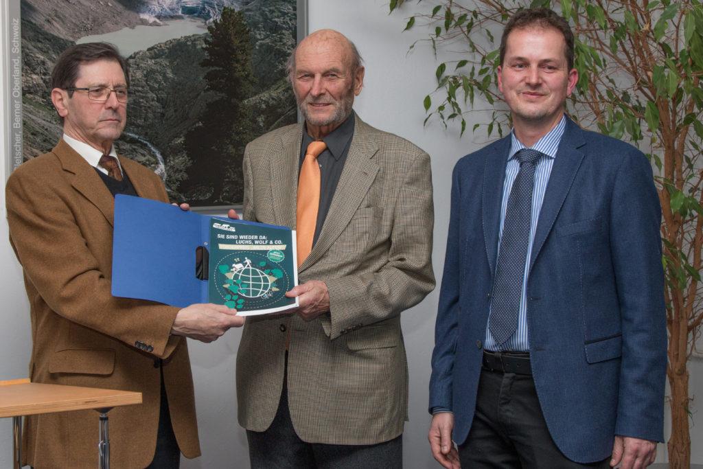 Förderpreis Wilde Alpen an Ulrich Wotschikowsky